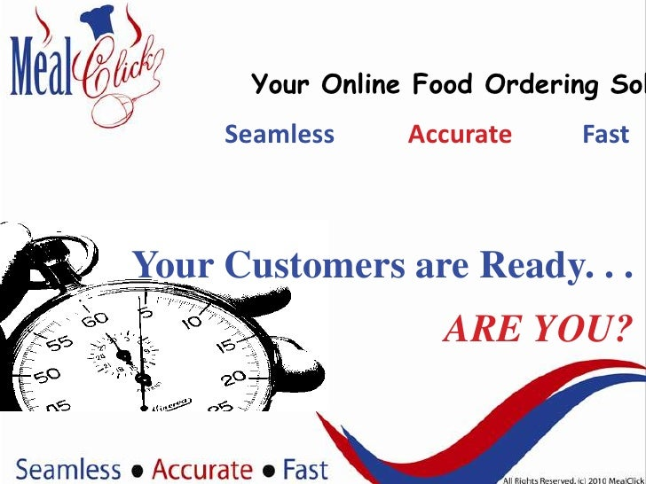 MealClick - Your Food Online Ordering System