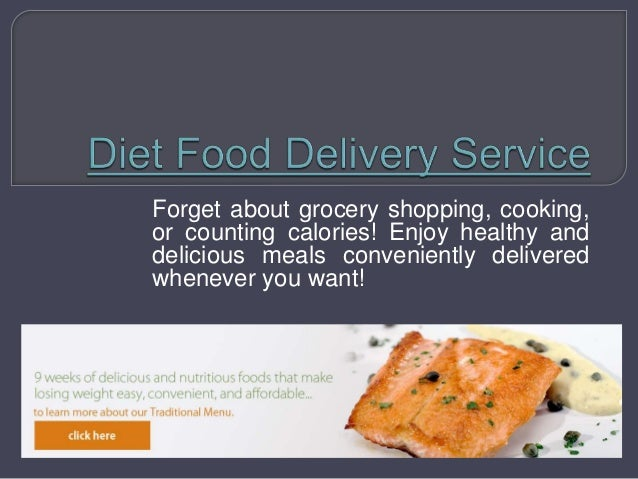 Forget about grocery shopping, cooking, or counting calories! Enjoy healthy and delicious meals conveniently delivered whe...