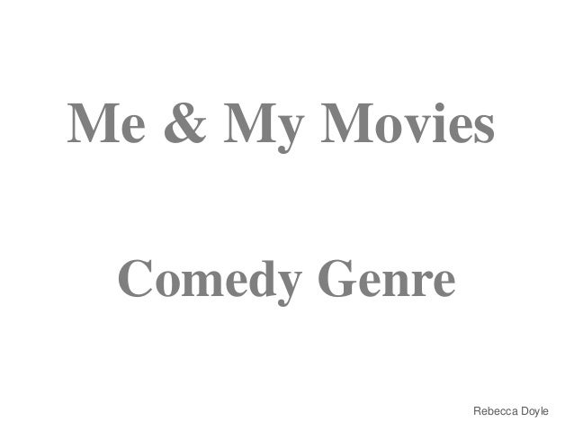 Me and my movies presentation