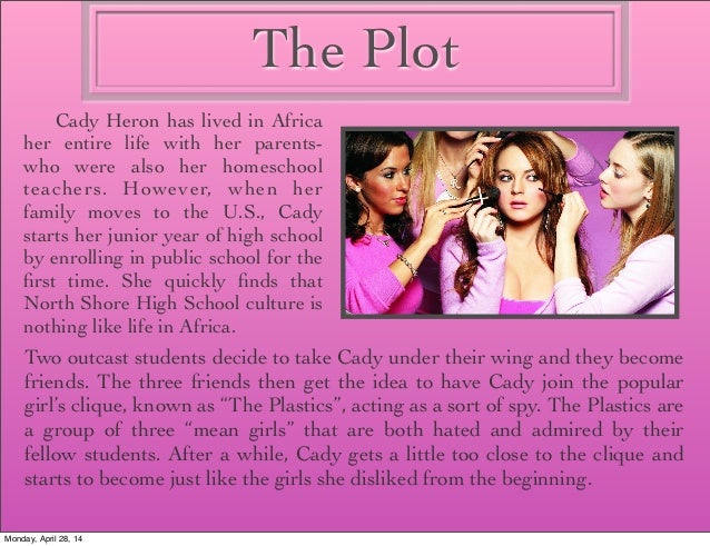 mean girls essay Check out our top free essays on mean girls belonging to help you write your own essay.