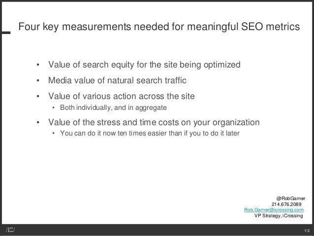 For Meaningful Seo Metrics