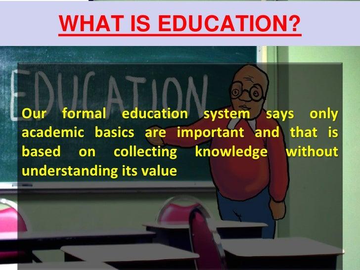 An Essay On Education