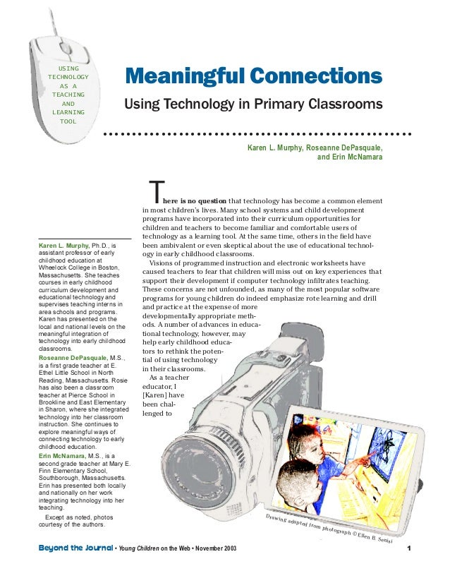 Meaningful connections using technology in primary classrooms
