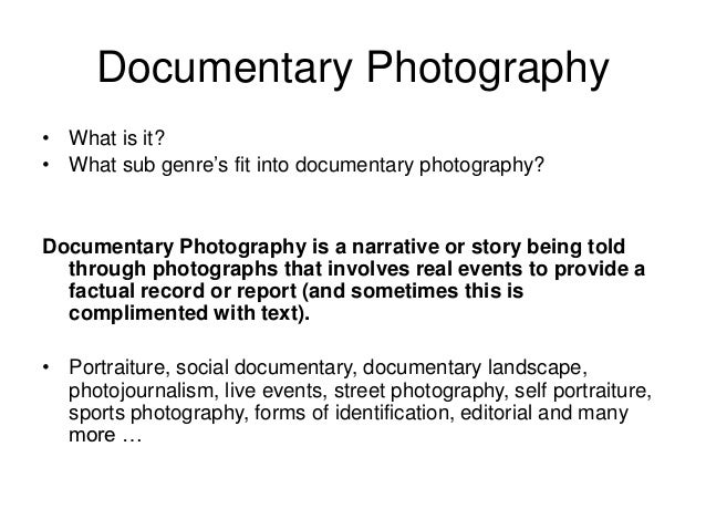 What is the meaning of photography?