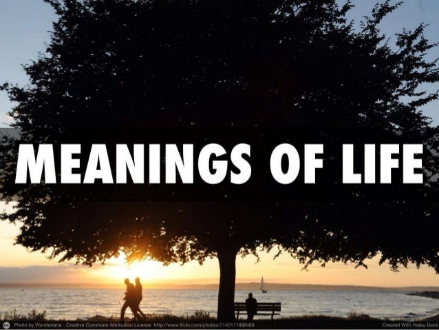 Meanings of Life: A Philosophical Jump-Start