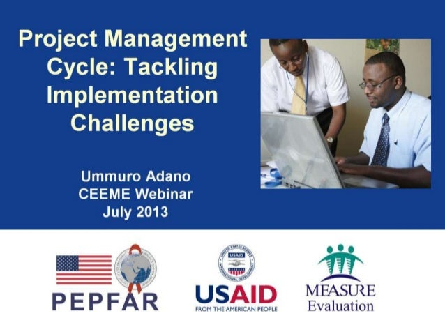 Project Management Cycle: Tackling Implementation Challenges