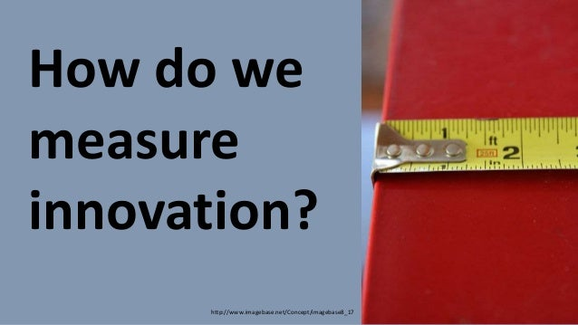 How do we measure innovation?