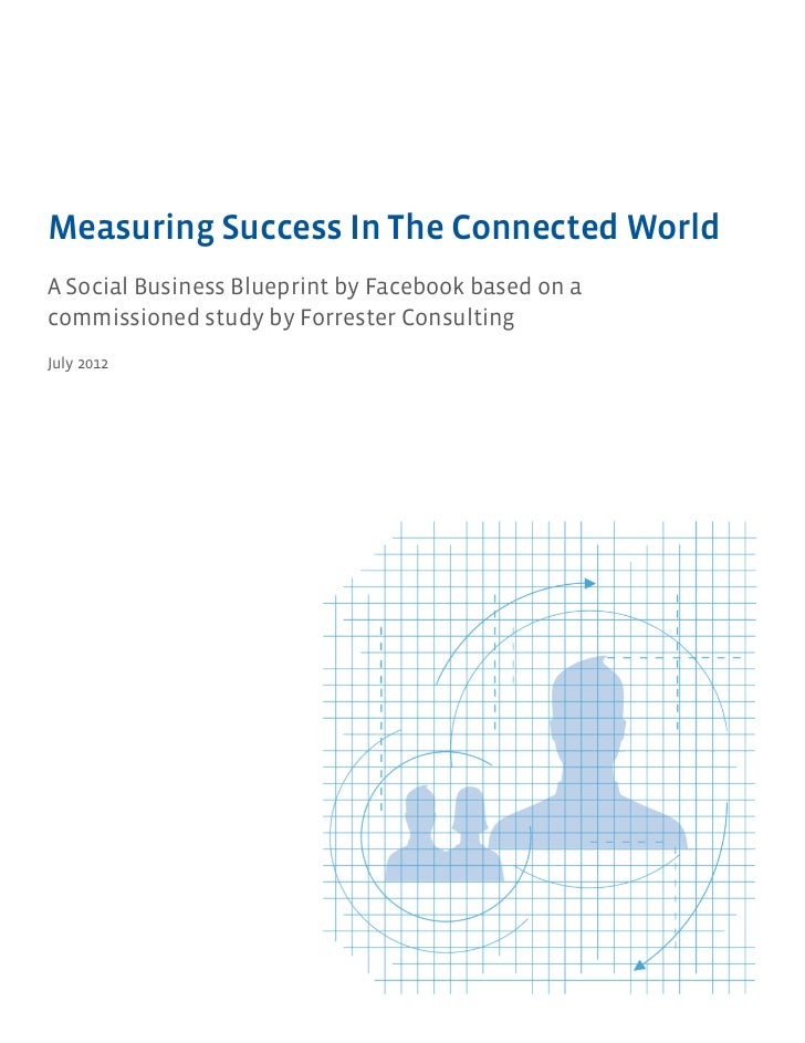 Measuring Success In The Connected WorldA Social Business Blueprint by Facebook based on acommissioned study by Forrester ...