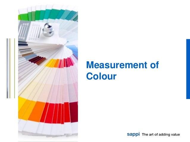 Measurement of Colour