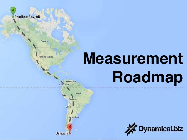 Measurement Roadmap
