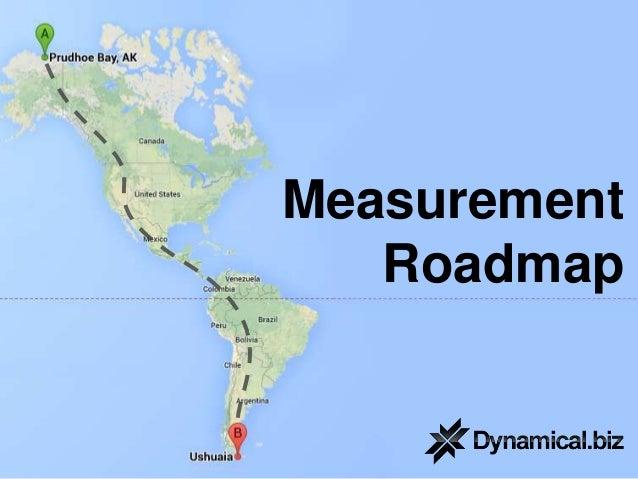 Measurement Roadmap