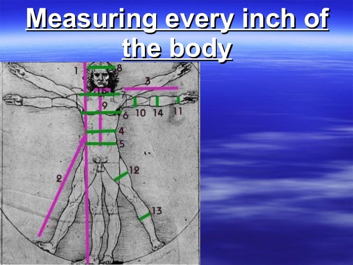 Measuring every inch of the body