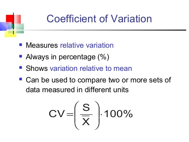 how to find point meausres and measures of variability