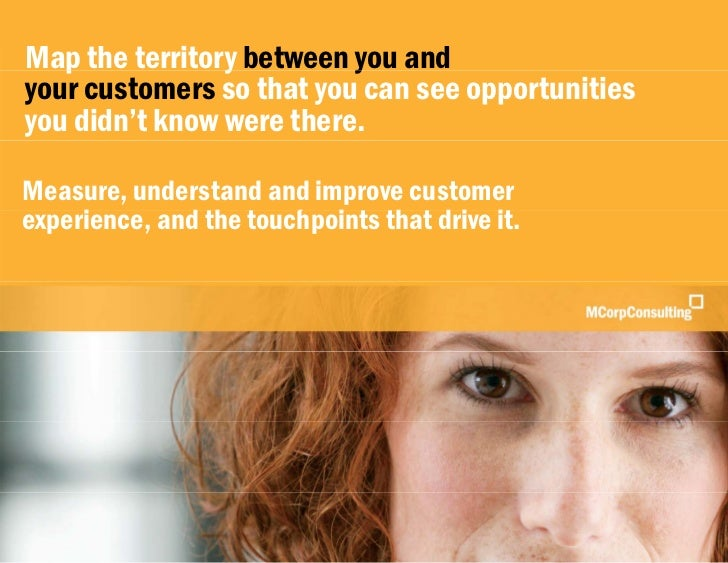 Measure, Understand and Improve Customer Experience |  MCorp Consulting