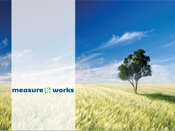 MeasureWorks  - Emerce efinancials - Managing the Mobile Experience