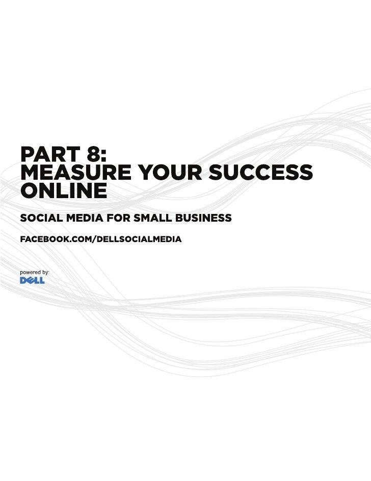 Measure Your Online Success - Social Media Guide
