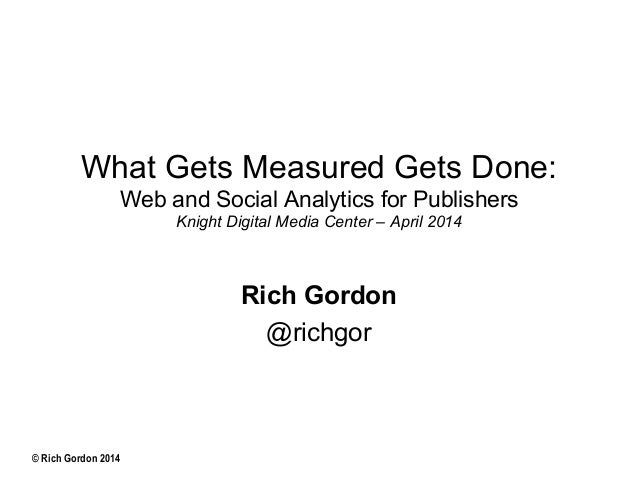 Measuring Digital Success with Web and Social Analytics