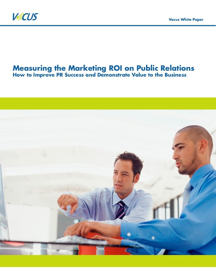 Measuring Marketing ROI on Public Relations