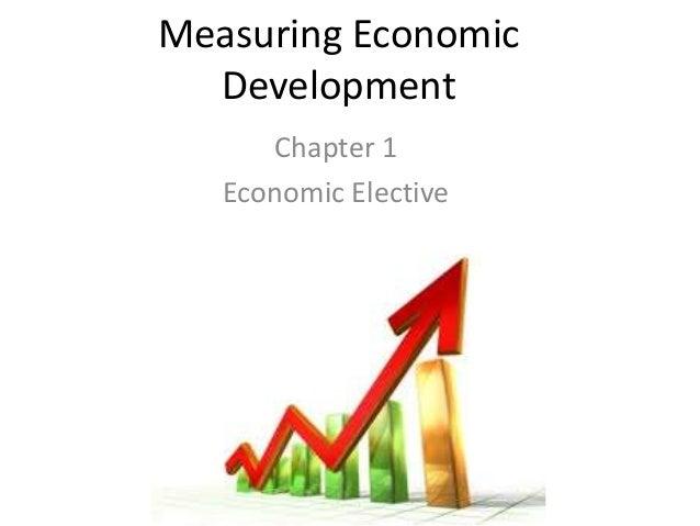 Measuring economic development