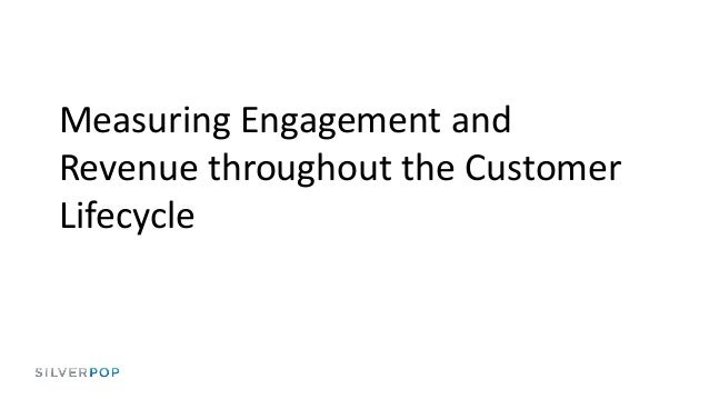 Measuring engagement and revenue throughout the customer lifecycle by Silverpop