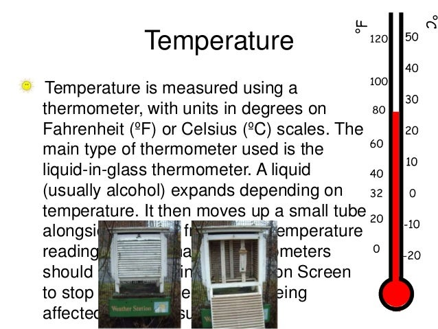 Types Of Weather Instruments : Measuring instruments of weather