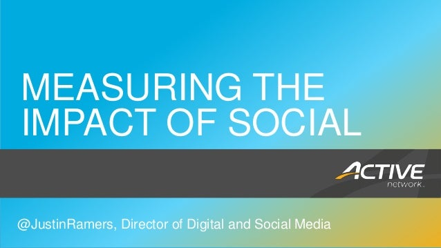Measuring the impact of social media   brand aid