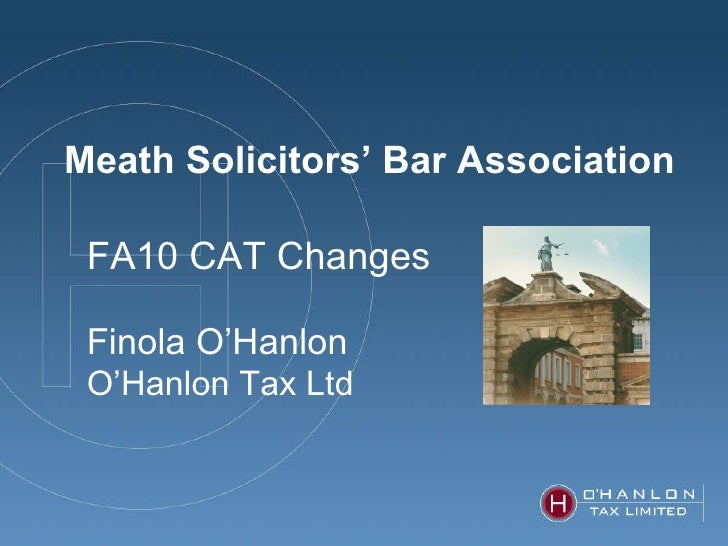 Capital Acqusitions Tax Changes