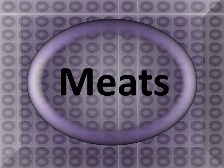 Meats<br />