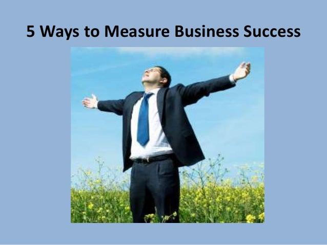 Ways To Measure Success