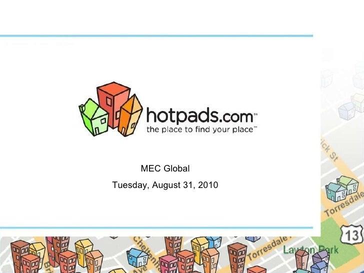 MEC Global Tuesday, August 31, 2010