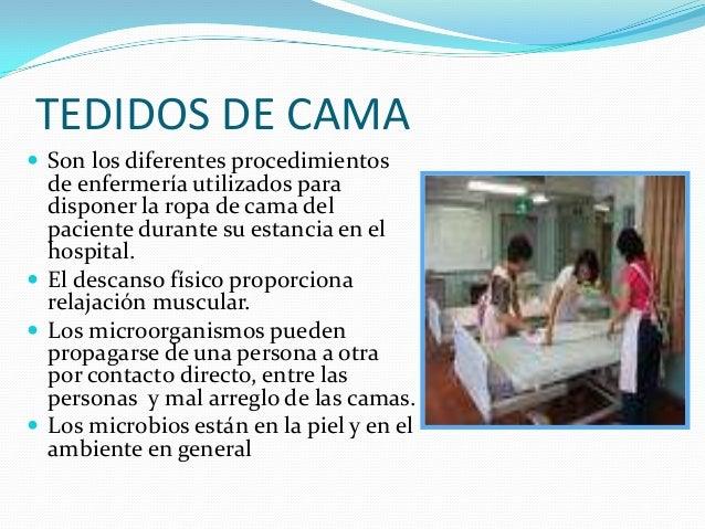 Baño General Del Paciente En Cama:están en la piel y en el ambiente en general