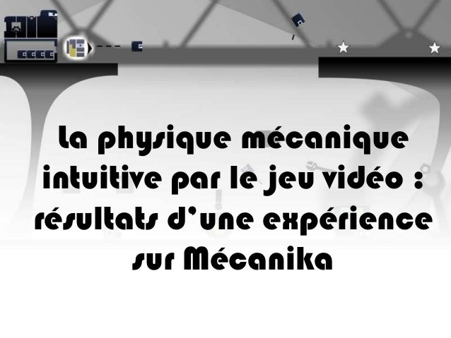 JIES 2013 F. Boucher-Genesse Mecanika