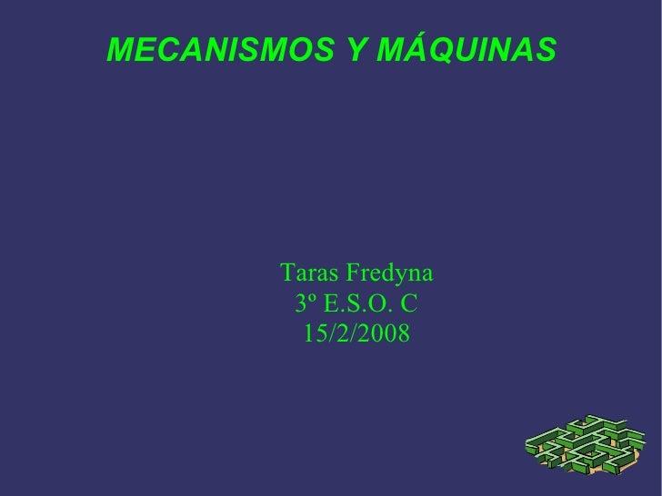 Mecanismos y máquinas. Tema 3