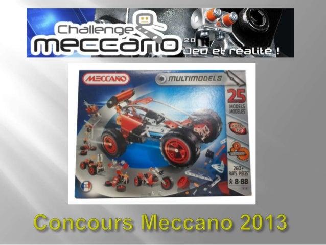 Nom du projet : VentiGénieVentilateur créé à partir de 2 boites Meccano 260 pièces.