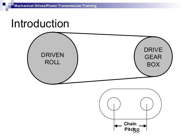 Chain Drive Mechanism 58 Mechanical Drives/power