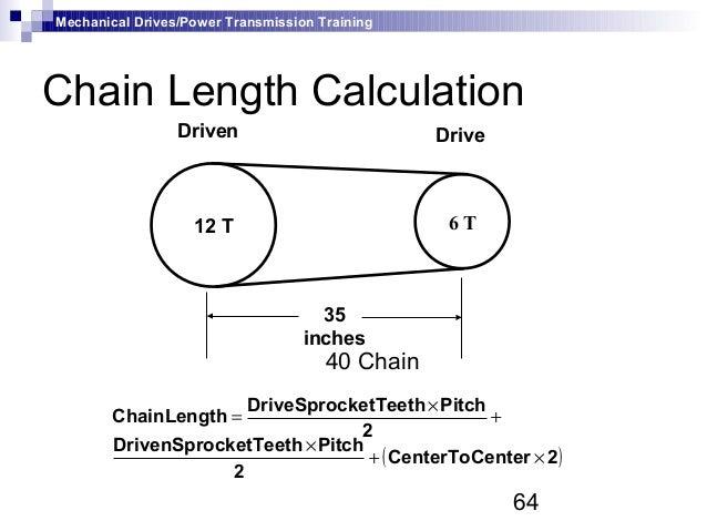 Chain Drive Mechanism Mechanical Drives Power
