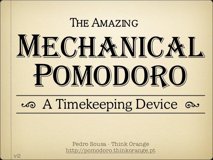 Mechanical Pomodoro App Circus