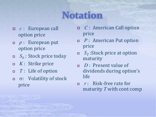 Stock options maturity
