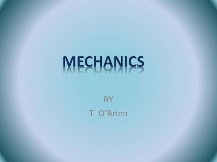 Mechanics revision- A2 Edexcel