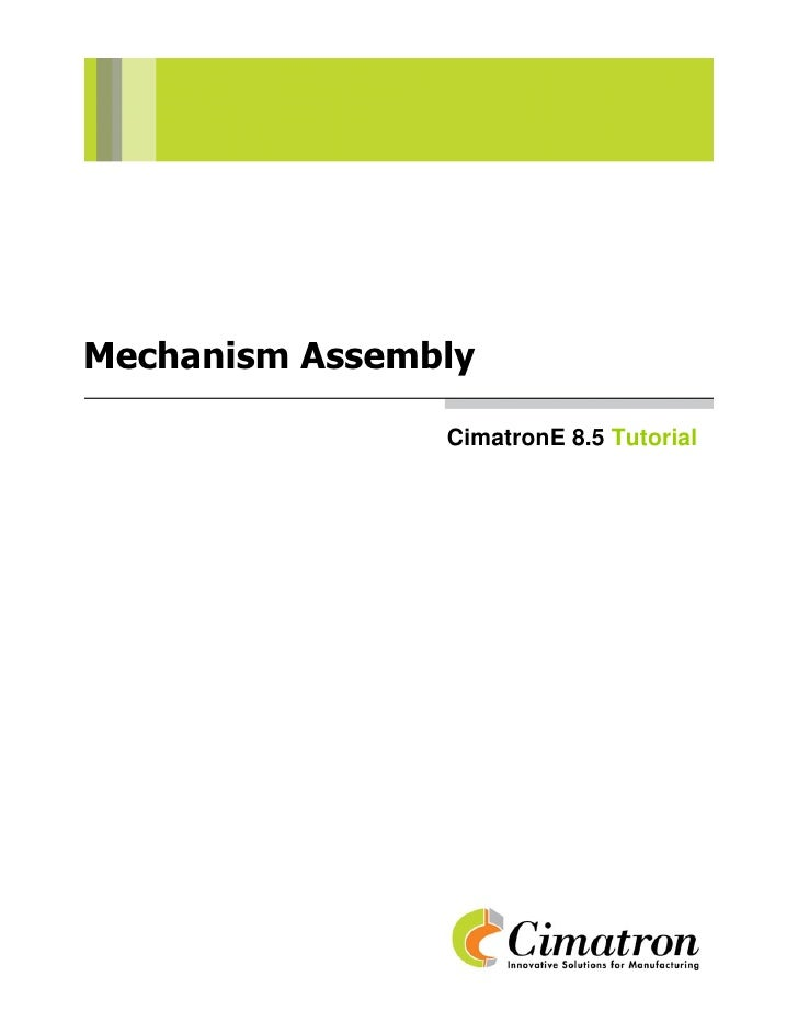 Mechanism assembly