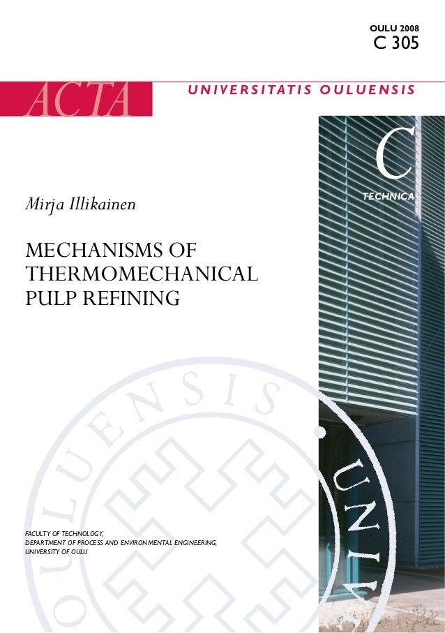 Mechanisms ofthermomechanical