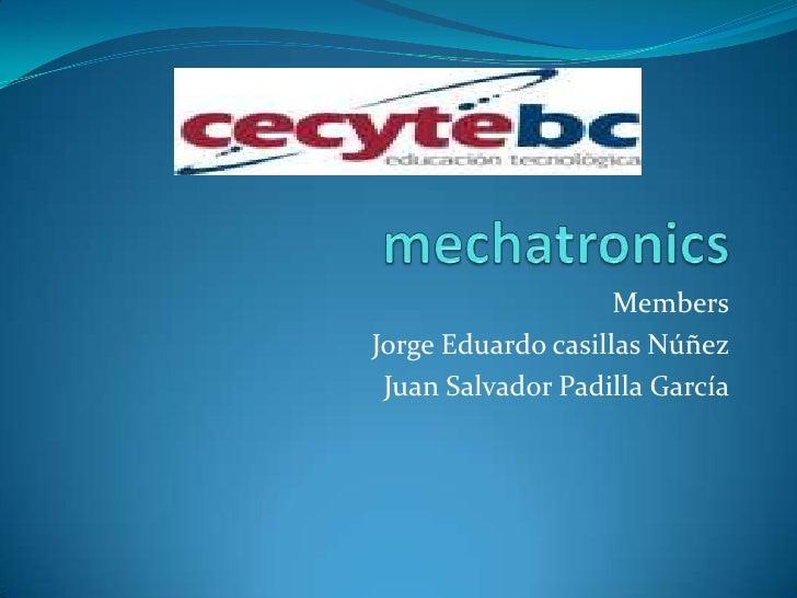 Mechatronics 2bmt