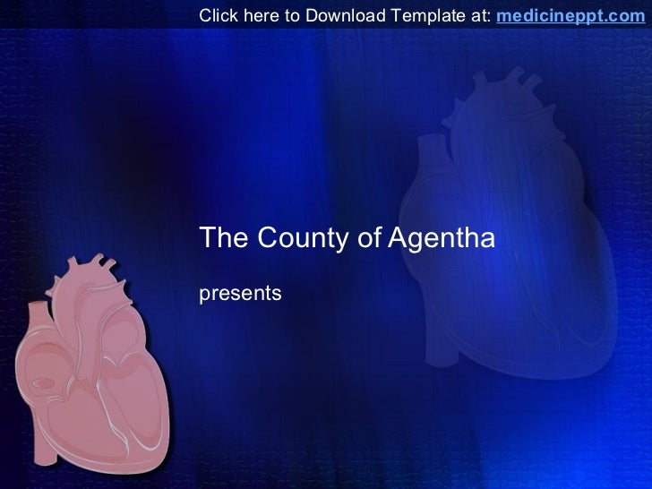 Heart PowerPoint Template Free