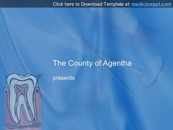 Teeth PowerPoint Template
