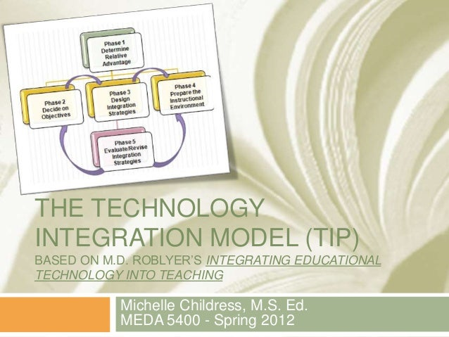 THE TECHNOLOGY INTEGRATION MODEL (TIP) BASED ON M.D. ROBLYER'S INTEGRATING EDUCATIONAL TECHNOLOGY INTO TEACHING Michelle C...