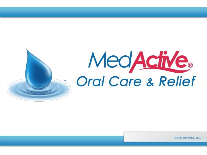 MedActive Oral Care for Dry Mouth Conditions