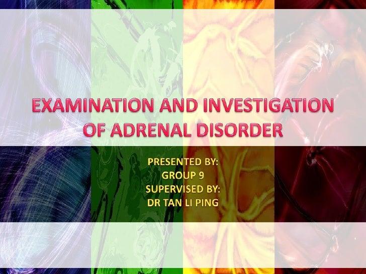Adrenal Disorder