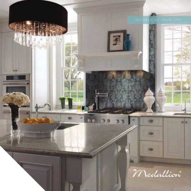 medallion cabinets inspire catalog. Black Bedroom Furniture Sets. Home Design Ideas