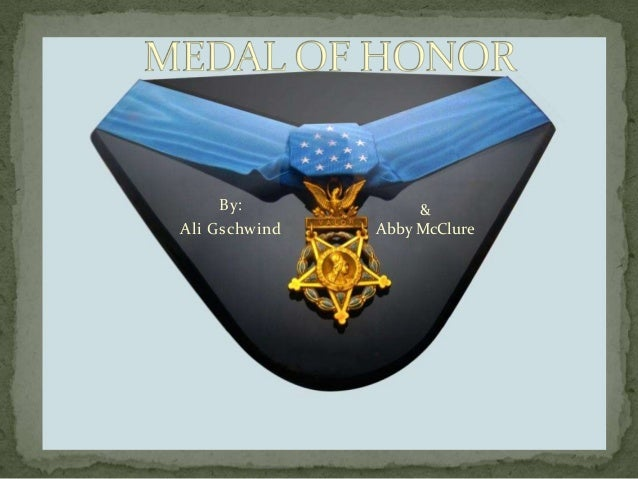 best medal of honor by ali and abby