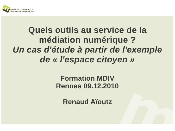 Mediation Numerique MDIV 09122010